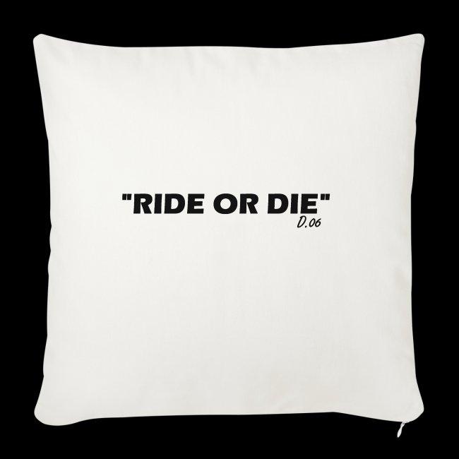 Ride or die (noir)