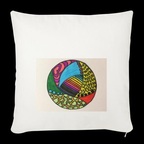 circle corlor - Pudebetræk 45 x 45 cm