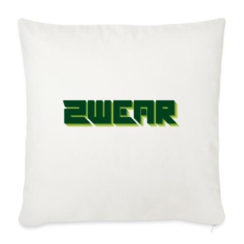 2wear Green Box Logo - Pudebetræk 45 x 45 cm