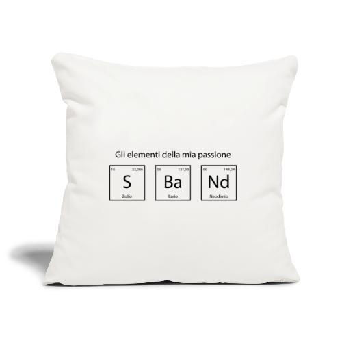 elementi chimici sband - Copricuscino per divano, 45 x 45 cm