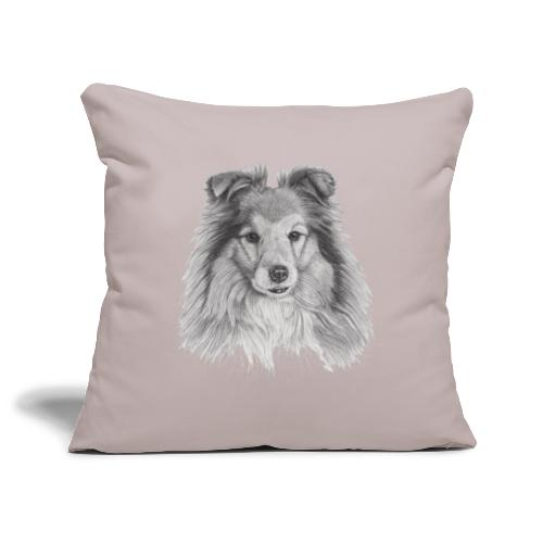 shetland sheepdog sheltie - Pudebetræk 45 x 45 cm