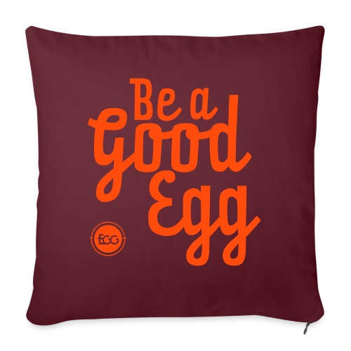 'Be a Good Egg' - Sofa pillowcase 17,3'' x 17,3'' (45 x 45 cm)