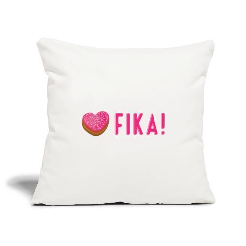 Jag älskar fika! - Sohvatyynyn päällinen 45 x 45 cm