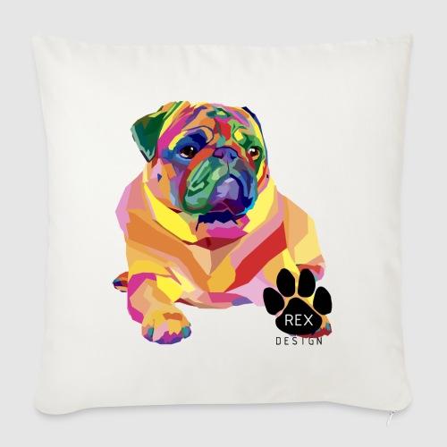 A Pug Life - Sofa pillowcase 17,3'' x 17,3'' (45 x 45 cm)