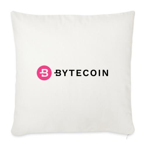 Cryptocurrency - Bytecoin - Sofakissenbezug 44 x 44 cm