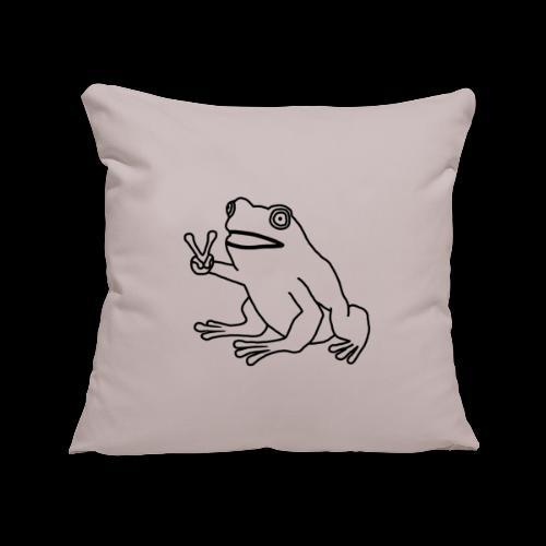 Funny Animal Frog Frosch - Sofakissenbezug 44 x 44 cm