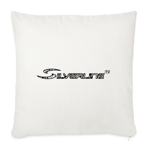 Silverline TV Logo - Sofakissenbezug 44 x 44 cm