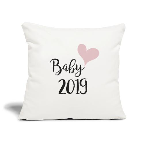 Baby 2019 - Sofakissenbezug 44 x 44 cm