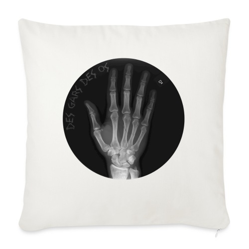 Des gars des os by JARL - Housse de coussin décorative 45x 45cm