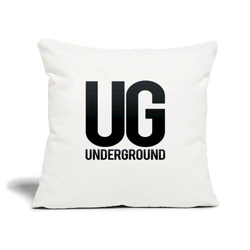 UG underground - Sofa pillowcase 17,3'' x 17,3'' (45 x 45 cm)