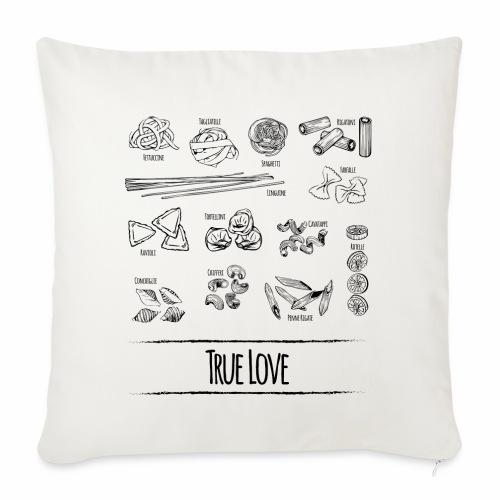 Pasta - My True Love - Sofakissenbezug 44 x 44 cm