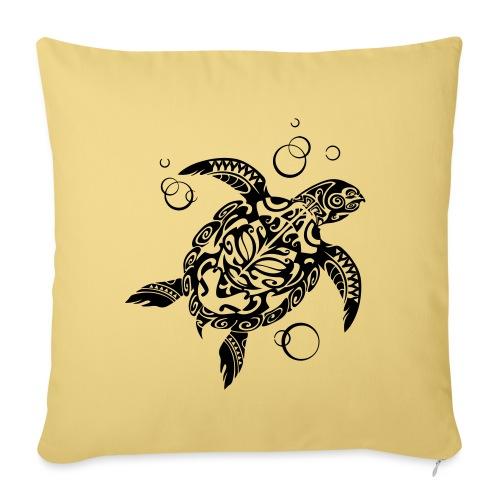 Watchful Turtle - Sofa pillowcase 17,3'' x 17,3'' (45 x 45 cm)