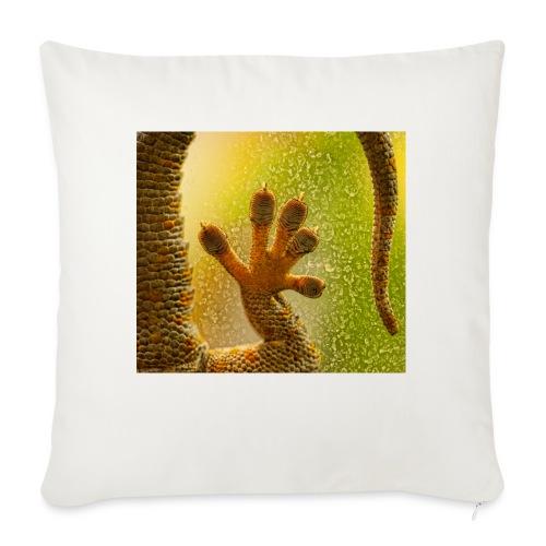 Gecko - Sofa pillowcase 17,3'' x 17,3'' (45 x 45 cm)