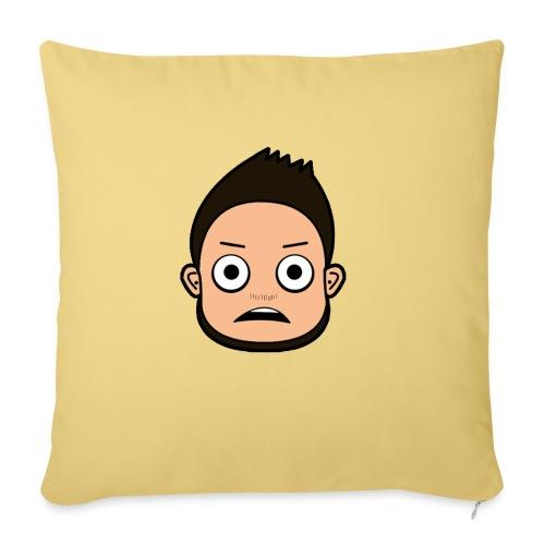 THE FACE - Sofa pillowcase 17,3'' x 17,3'' (45 x 45 cm)
