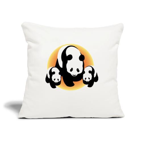 Chineese Panda's - Sierkussenhoes, 45 x 45 cm