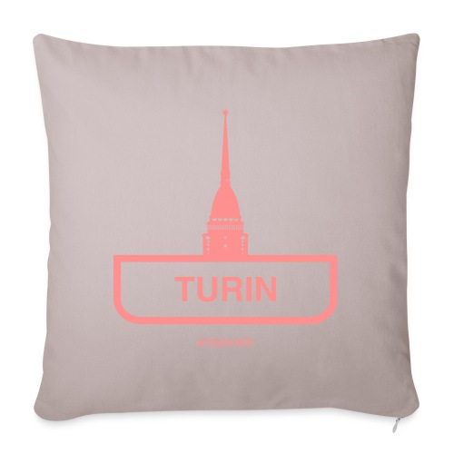 Torino - Copricuscino per divano, 45 x 45 cm