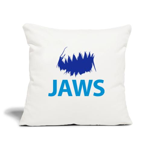 Jaws Dangerous T-Shirt - Sofa pillowcase 17,3'' x 17,3'' (45 x 45 cm)