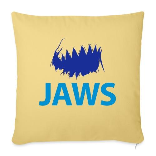 Jaws Dangerous T-Shirt - Sofa pillowcase 17,3'' x 17,3'' (45 x 45 cm)
