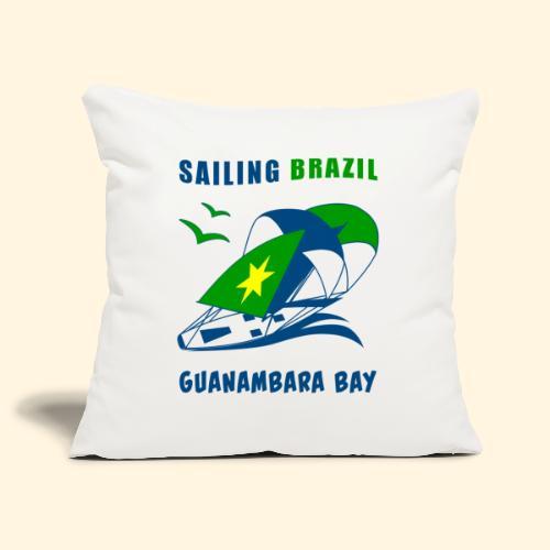 Sailing Brazil - Sofa pillowcase 17,3'' x 17,3'' (45 x 45 cm)