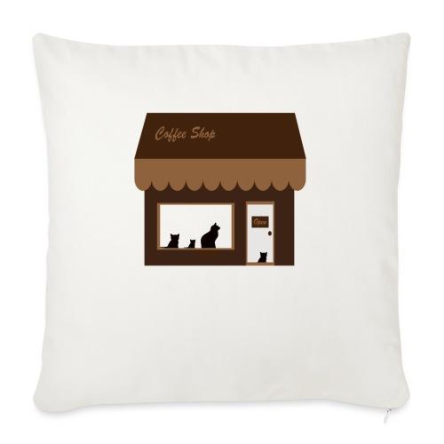 Coffee Shop - Sofakissenbezug 44 x 44 cm