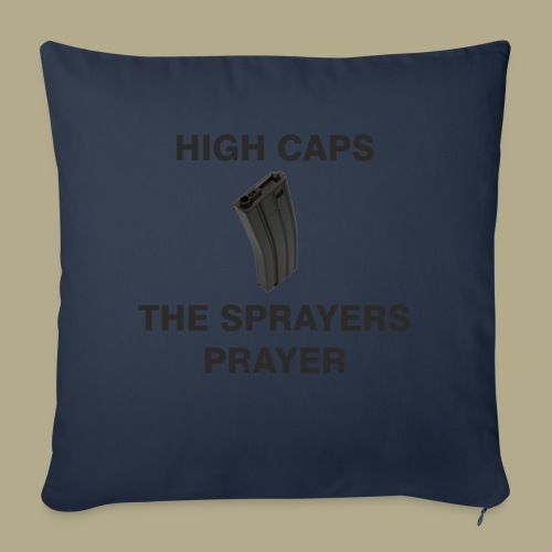 Sprayers Prayer - Sierkussenhoes, 45 x 45 cm