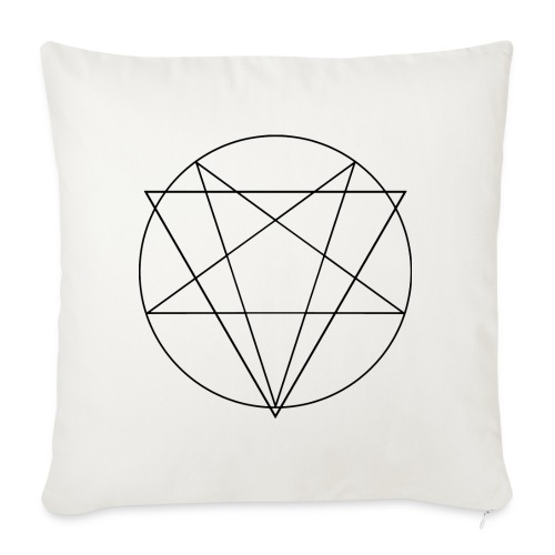 MANIFEST VIA SINISTRA WB - Sofa pillowcase 17,3'' x 17,3'' (45 x 45 cm)
