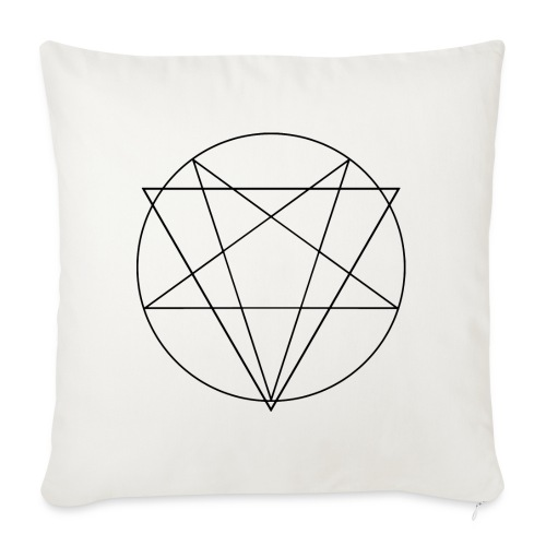 MANIFEST VIA SINISTRA WB - Sofa pillow cover 44 x 44 cm