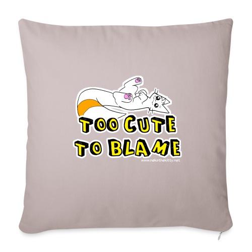 Too Cute To Blame - Sofa pillowcase 17,3'' x 17,3'' (45 x 45 cm)