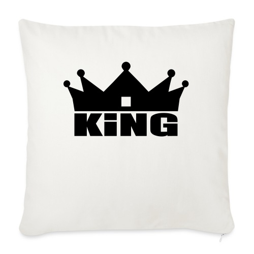 I'm the King - Housse de coussin décorative 45x 45cm