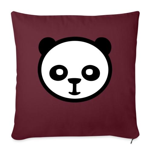 Pandabär, Große Panda, Riesenpanda, Bambusbär - Sofakissenbezug 44 x 44 cm