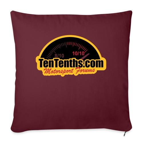 3Colour_Logo - Sofa pillowcase 17,3'' x 17,3'' (45 x 45 cm)