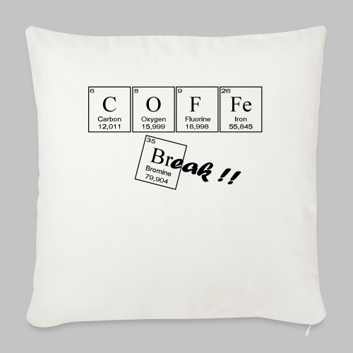 Coffee Break - Sofa pillowcase 17,3'' x 17,3'' (45 x 45 cm)