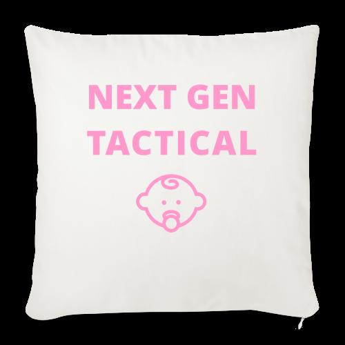 Tactical Baby Girl - Sierkussenhoes, 45 x 45 cm
