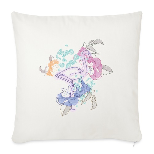 peacock - Sofa pillowcase 17,3'' x 17,3'' (45 x 45 cm)