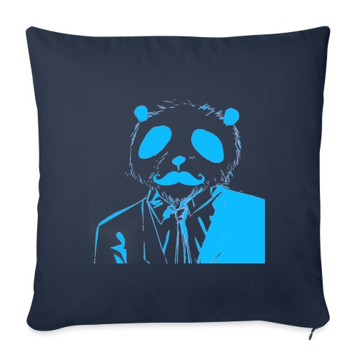 BluePanda Logo - Sofa pillowcase 17,3'' x 17,3'' (45 x 45 cm)