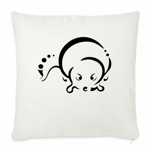 Otter, Tribal Design - Sofa pillowcase 17,3'' x 17,3'' (45 x 45 cm)