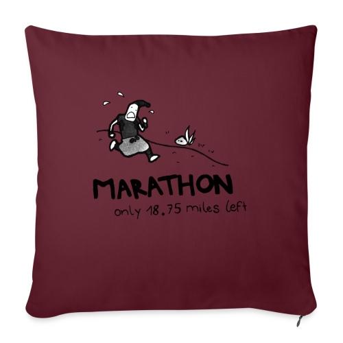 marathon-png - Poszewka na poduszkę 45 x 45 cm