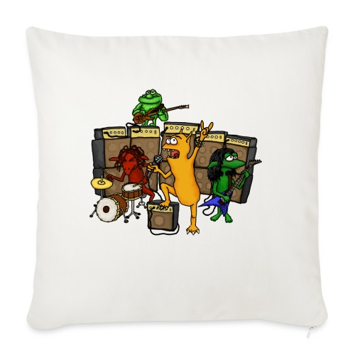 Kobold Metal Band - Sofa pillowcase 17,3'' x 17,3'' (45 x 45 cm)