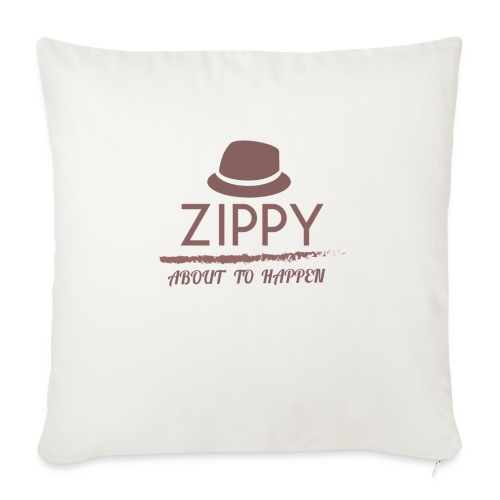 ZIPPY - Funda de cojín, 45 x 45 cm