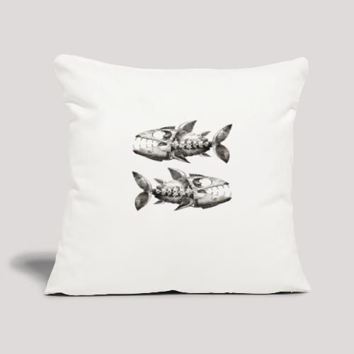 FishEtching - Sofa pillowcase 17,3'' x 17,3'' (45 x 45 cm)