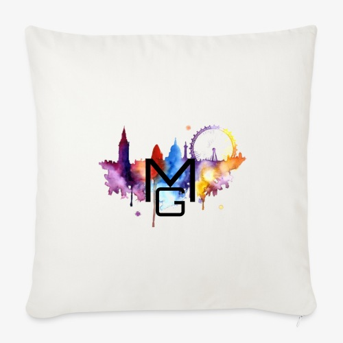 London Watercolour MG - Sofa pillowcase 17,3'' x 17,3'' (45 x 45 cm)