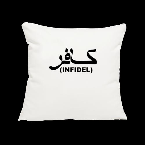 INFIDEL - Sofa pillowcase 17,3'' x 17,3'' (45 x 45 cm)