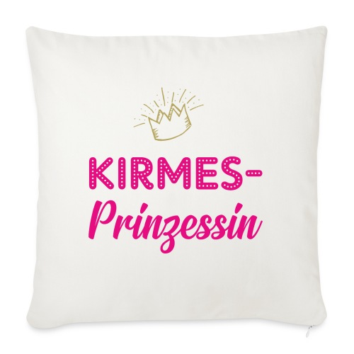Kirmes-Prinzessin - Sofakissenbezug 44 x 44 cm
