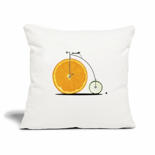 Fruit Bicycle - Sofa pillowcase 17,3'' x 17,3'' (45 x 45 cm)