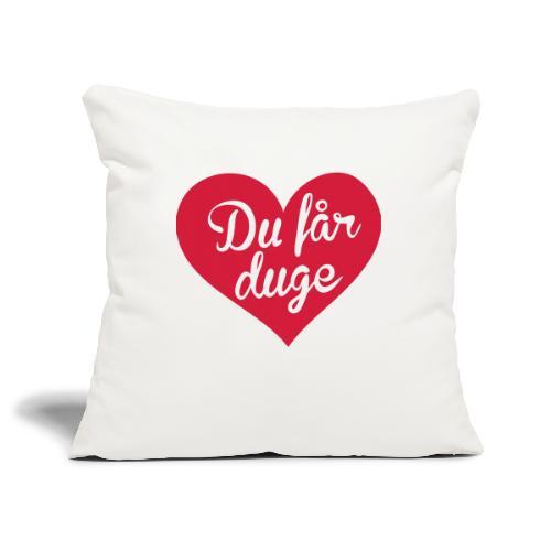 Ekte kjærlighet - Det norske plagg - Sofaputetrekk 45 x 45 cm