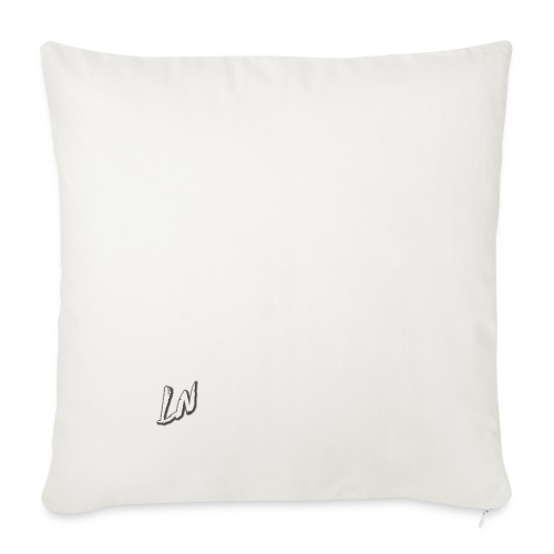 Linda Newby Logo - Sofa pillowcase 17,3'' x 17,3'' (45 x 45 cm)