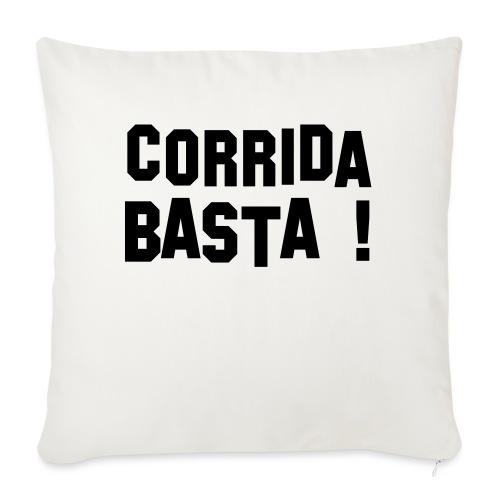 Anti-Corrida - Housse de coussin décorative 45x 45cm