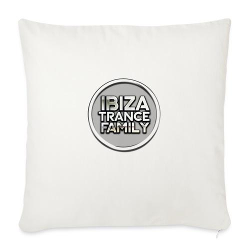 itf circle chrome trans png - Sofa pillowcase 17,3'' x 17,3'' (45 x 45 cm)