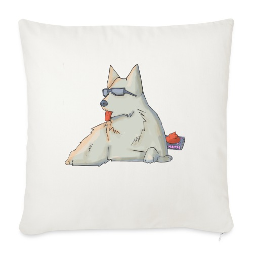 Cane - Copricuscino per divano, 45 x 45 cm