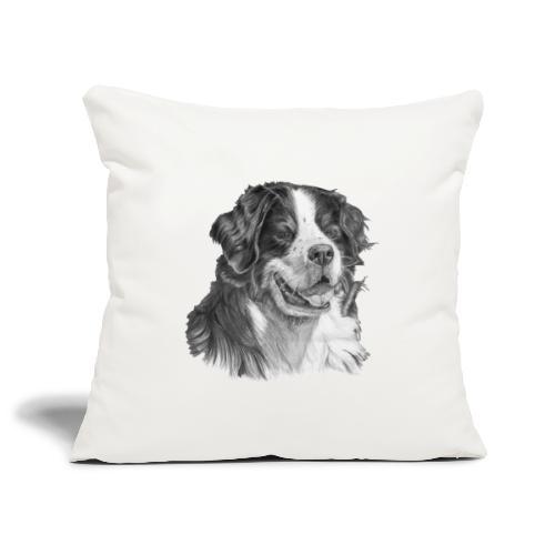 Bernese mountain dog - Pudebetræk 45 x 45 cm